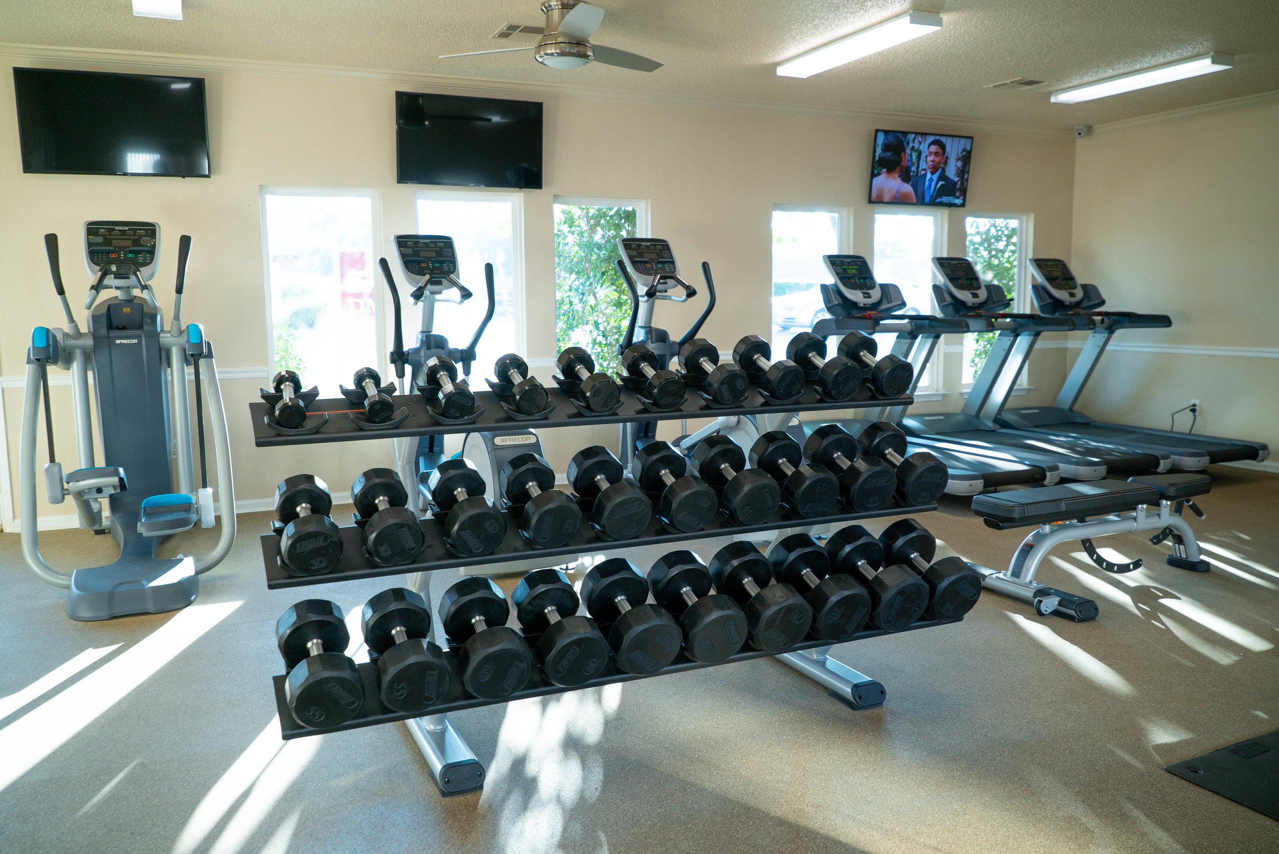 Fully Equipped Gym at The Edge at Norman