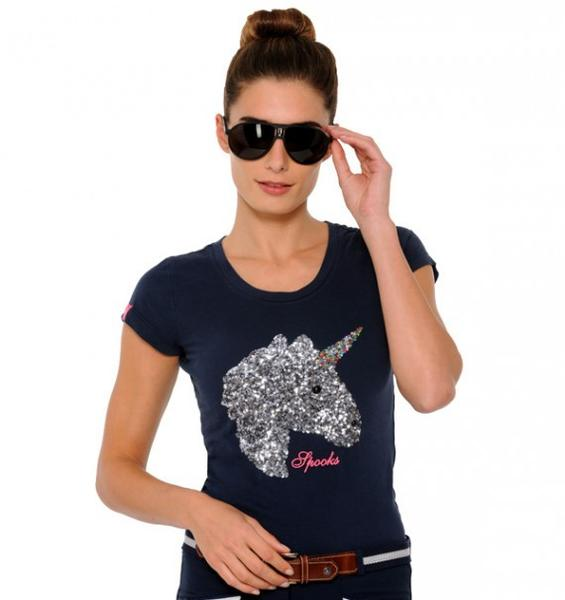 SPOOKS NAVY UNICORN T SHIRT