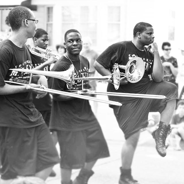 Detroit parade.