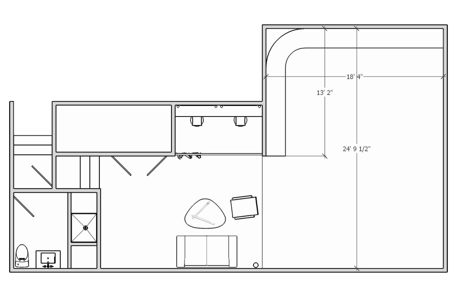Somerville Studios Floor Plan