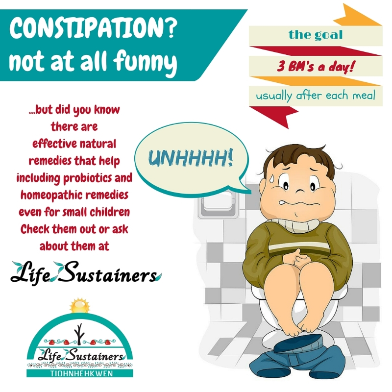 Constipation Not Funny At All Life Sustainers Natural Health Nutrition Market
