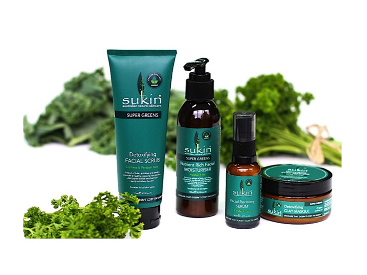 Sukin Super Greens Organic Skincare