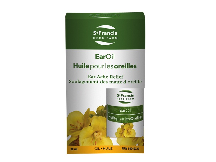 St Francis Ear Oil Mullein