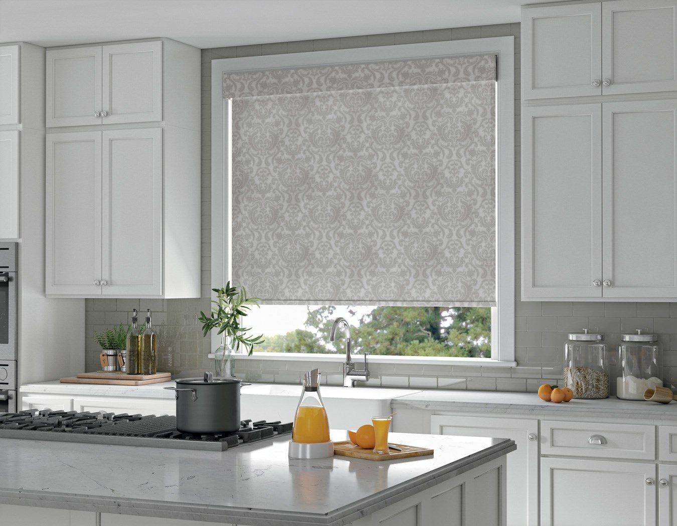 Blinds — Blinds & More on wood kitchen ideas, skylight kitchen ideas, window kitchen ideas, roman shades kitchen ideas,