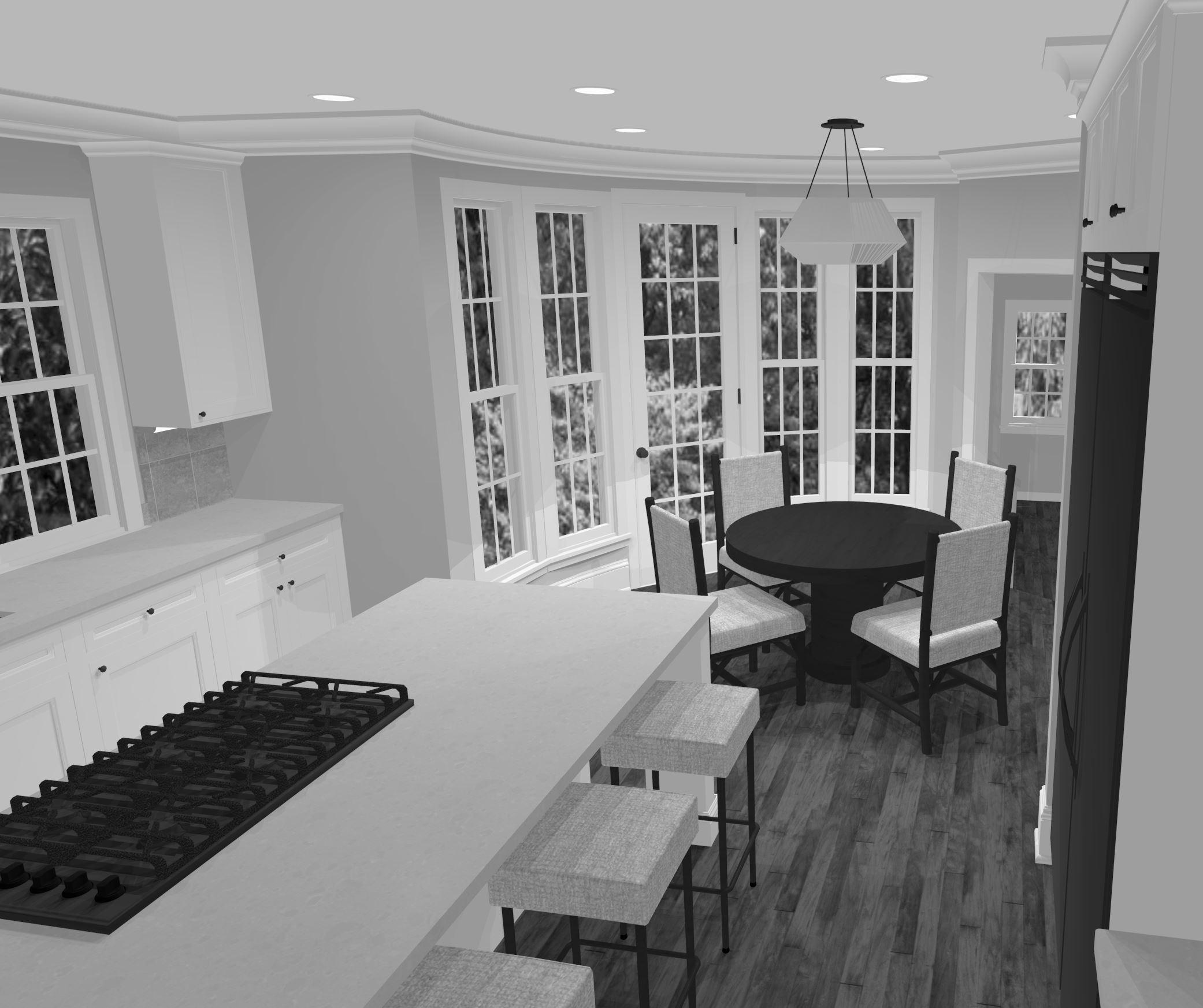 Kitchen - Rendering 1