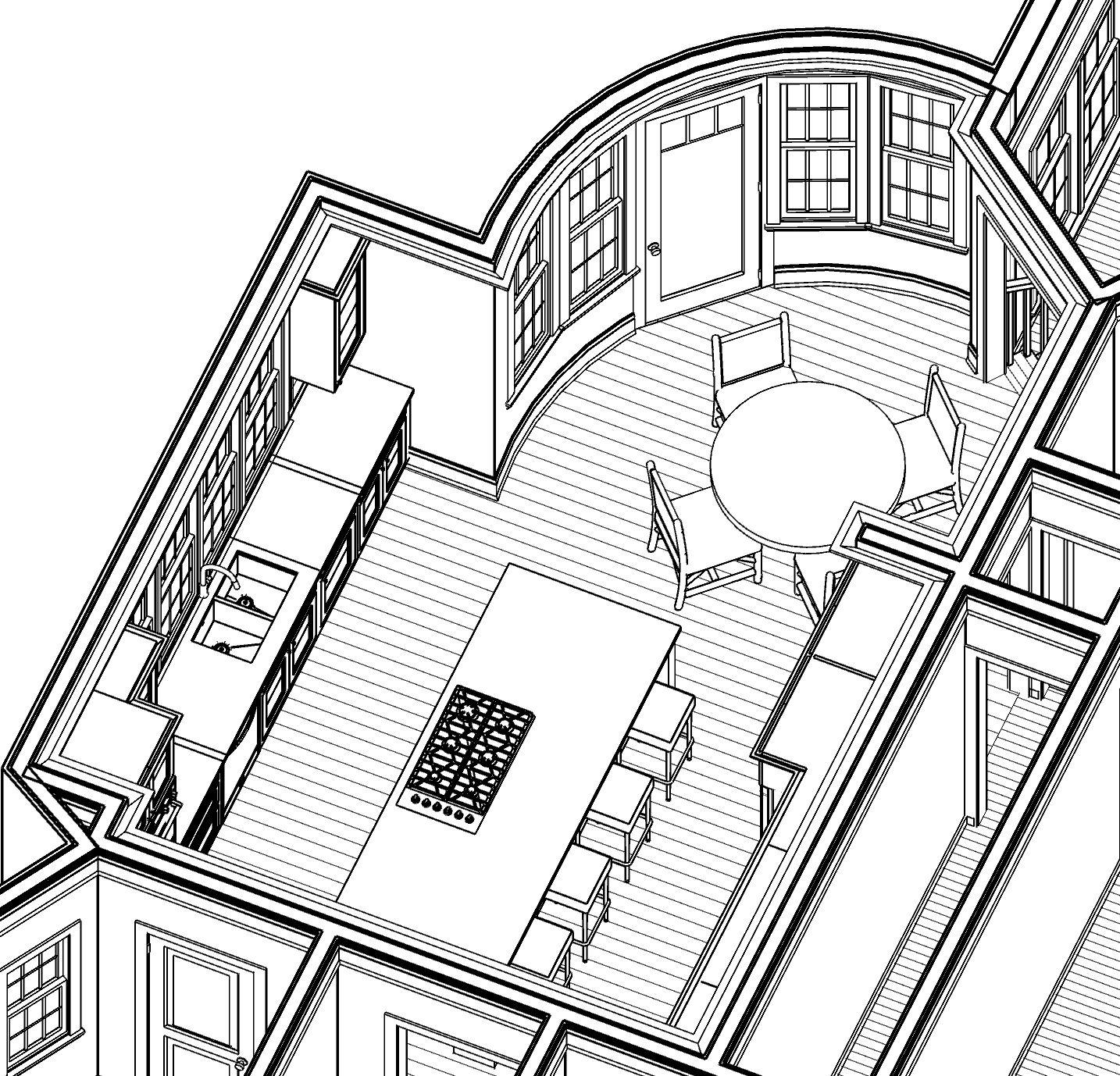 Kitchen - sketch