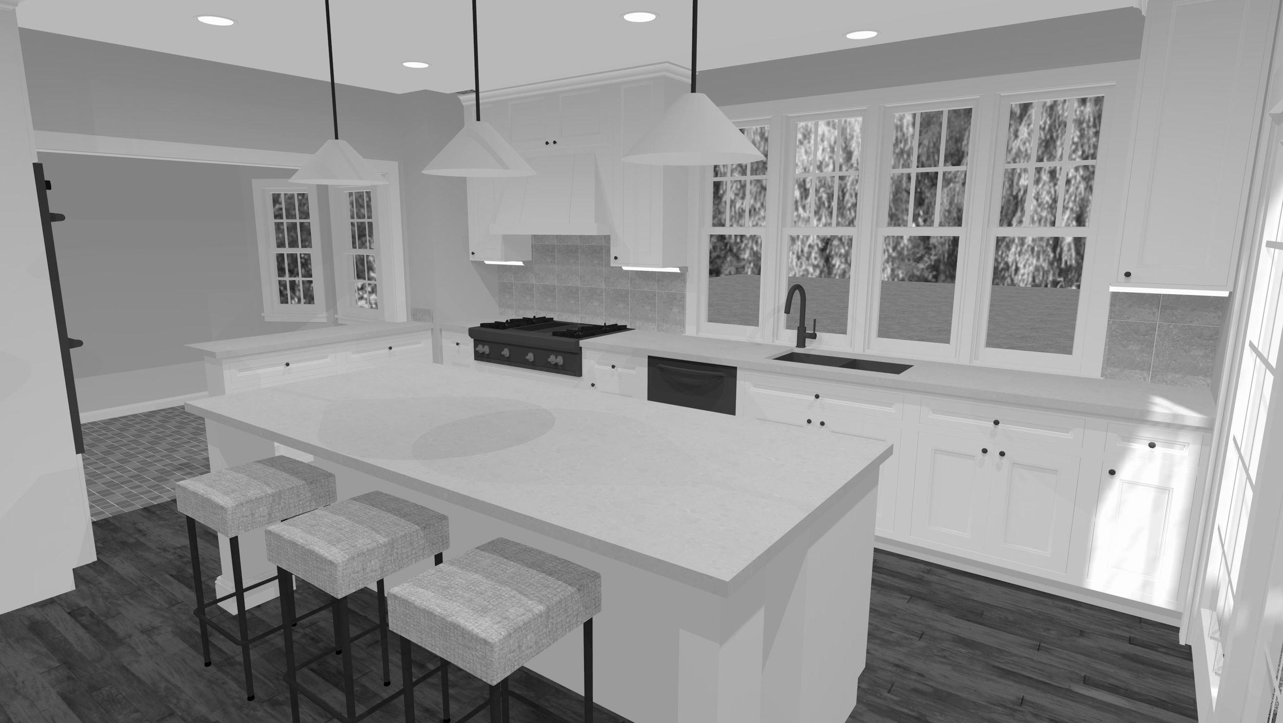 Kitchen - Rendering 2
