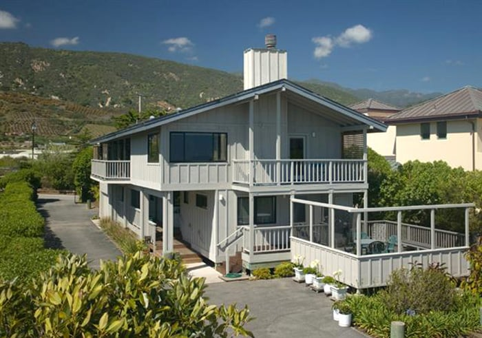 Padaro Lane Beach Cottage Carpinteria, California   Unobstructed views of the waves.    Offered at $4,200,000 SOLD