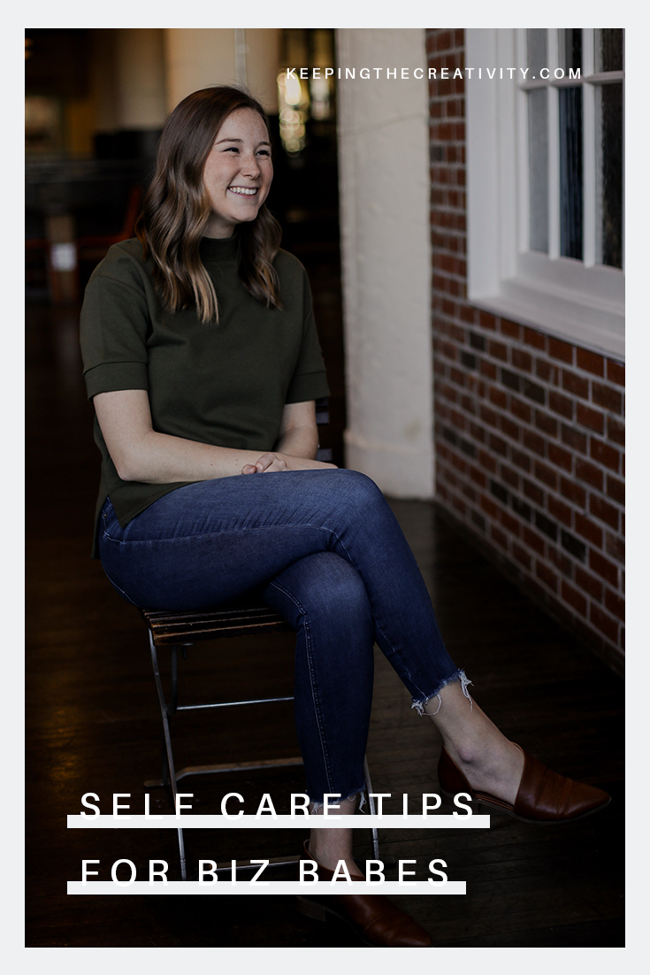 Self Care Tips for Biz Babes