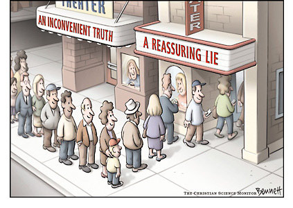 Cartoon by  Clay Bennett