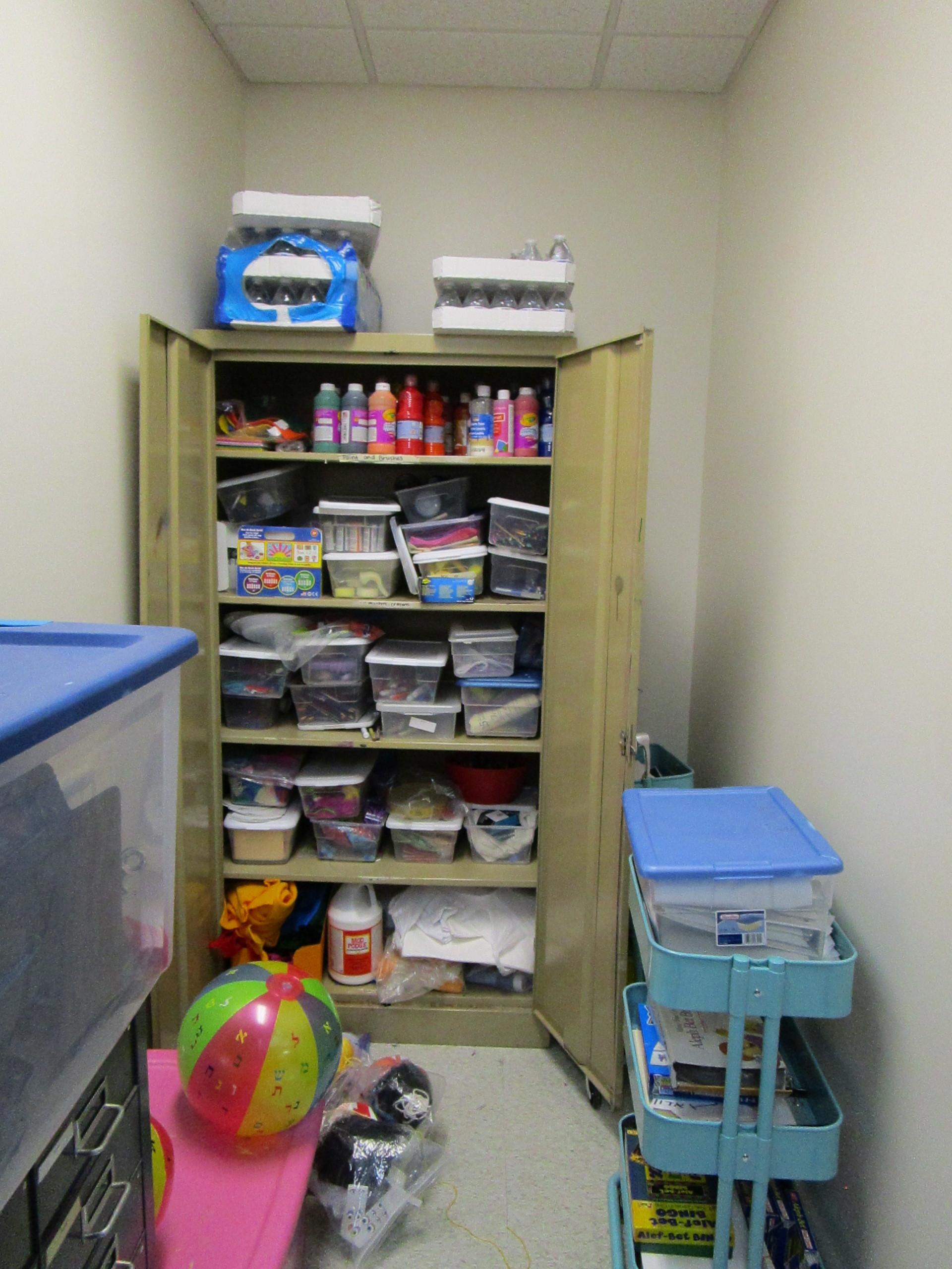 Supply Closet Before