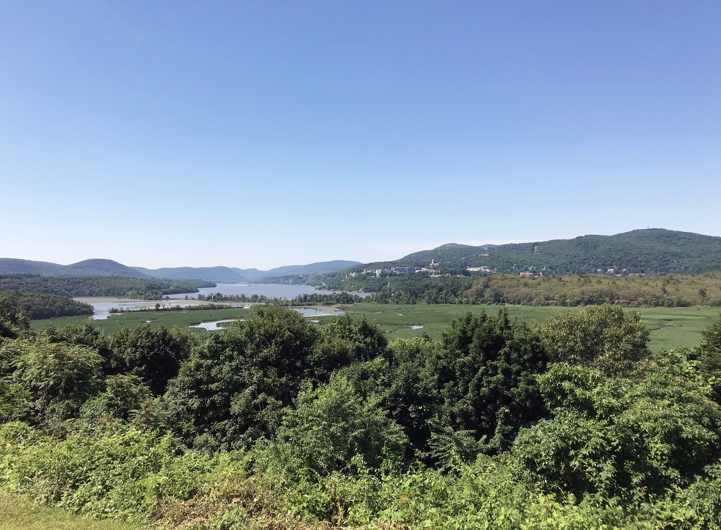 Boscobel, View of Hudson River