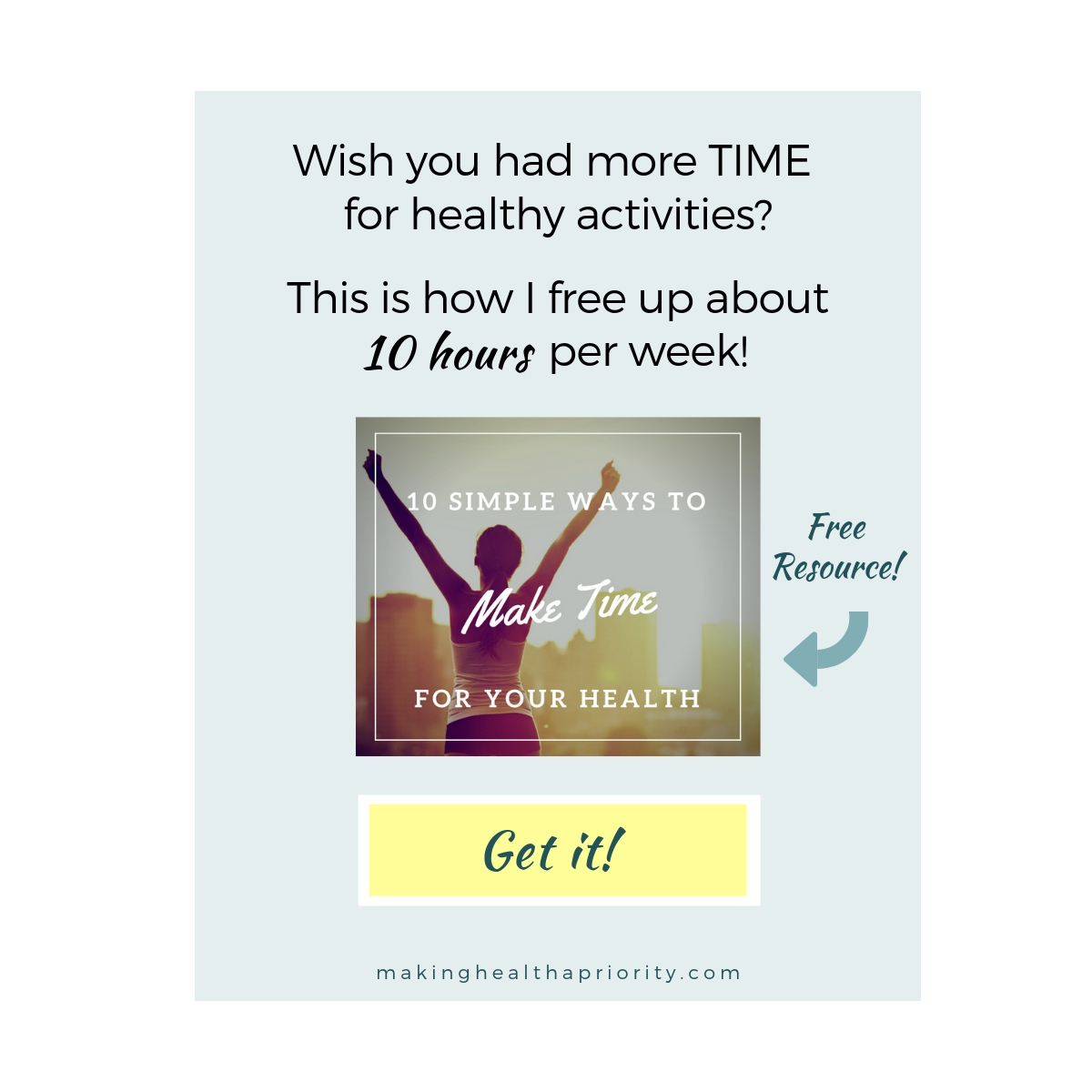 How to free up time for healthy activities.jpg
