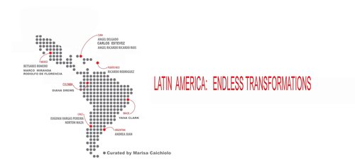 Latin America: Endless Transformation - September 8 - October 29, 2017A collaborative exhibit co-presented by RedLine, Contemporary Expressions of Art, Latino Community Foundation of Colorado, and Building Bridges Art Exchange.Participating Artists: Yana Clark, Ángel Delgado, Diana Drews, Carlos Estévez, Rodolfo de Florencia, Andrea Juan, Norton Maza, Marco Miranda, Eugenia Vargas Pereira, Angel Ricardo Ricardo Rios, Ricardo Rodríguez, Betsabeé Romero.Coming from many lands, races, and perspectives, Latin America: Endless Transformation explored the constant social, political, and cultural reconfiguration that occurs in Latin America. In this exhibit, artists were investigating the ways in which communities reshape their own collective identity and reveal a continuous transformation that is visible in the artistic movements taking place throughout the Americas.Through performances, installations, videos, paintings, and photography, this Latin America: Endless Transformation acted as a dynamic laboratory for each artist to examine and experiment with different aspects of identity as patriotism, community, citizenship, the pursuit of happiness, freedom, equal rights, and activism.Latin America: Endless Transformation is the fourth exhibition in (dis)Place.