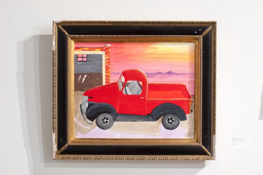 Figure 2: Barbara Alphin-Johnson, The  Red Truck , 2018.