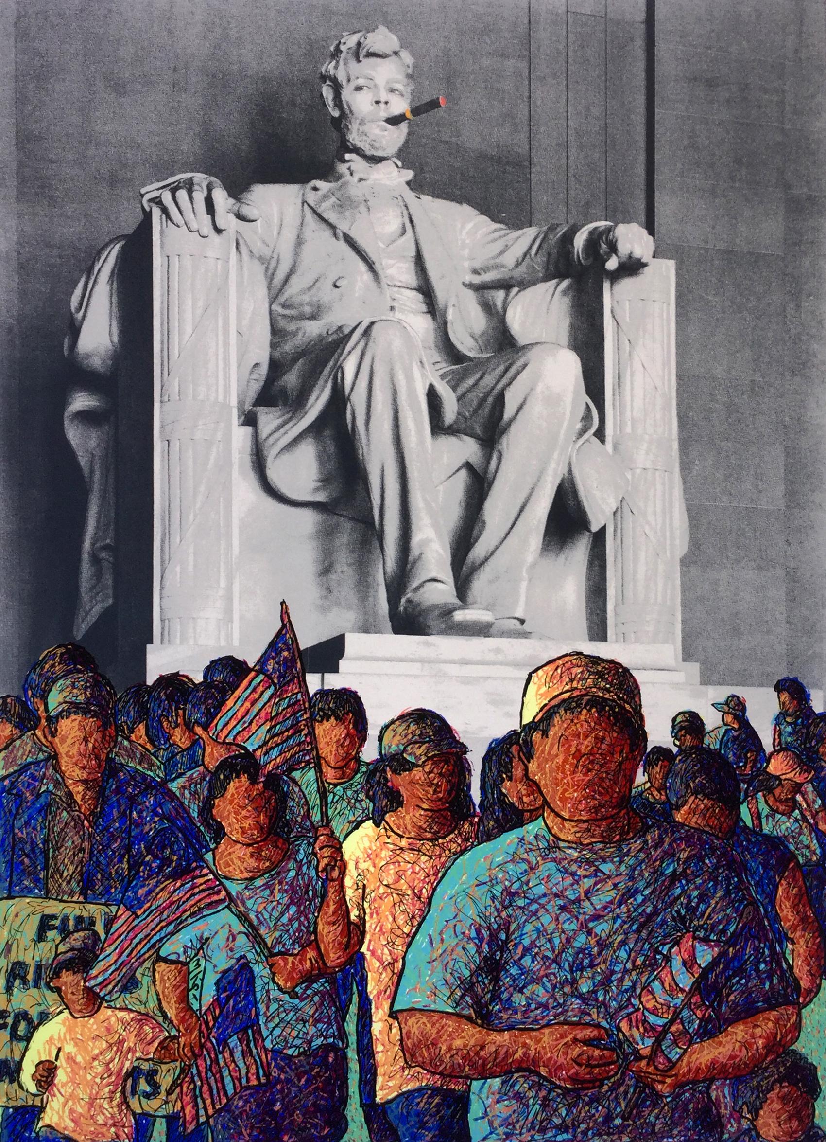 La Marcha de Ernesto Che Lincoln_Ortega_Silkscreen.jpg