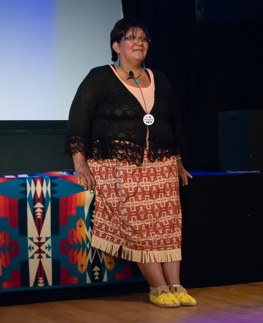 Regina Lopez Whiteskunk, guest speaker