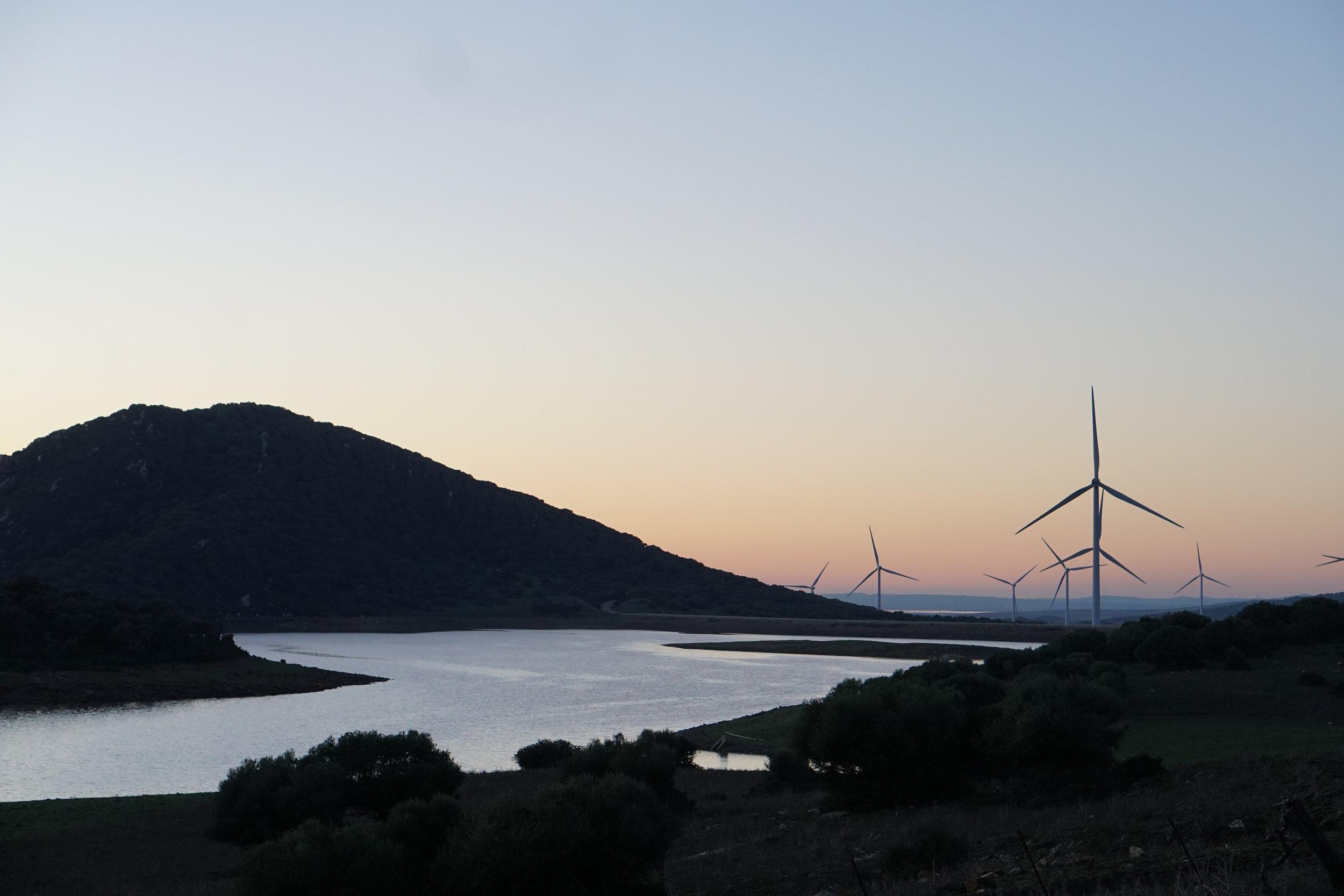 Valle de Ojen turbines