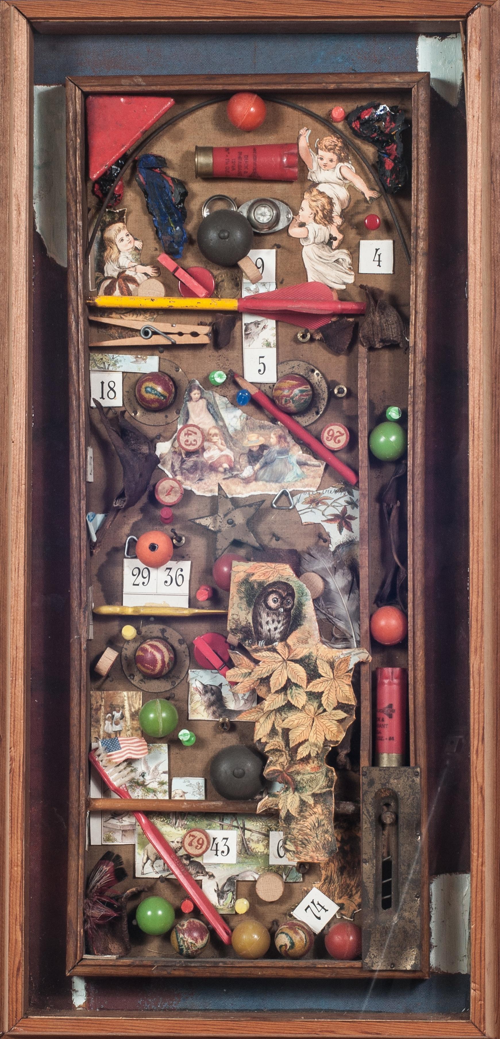 Game Box.    1982, box, 27.6 x 13.4 x 1.8 inches.
