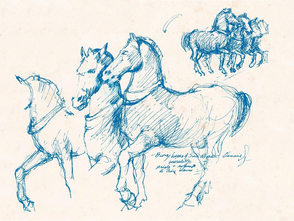 Bronze Horses of San Marco. Venice.