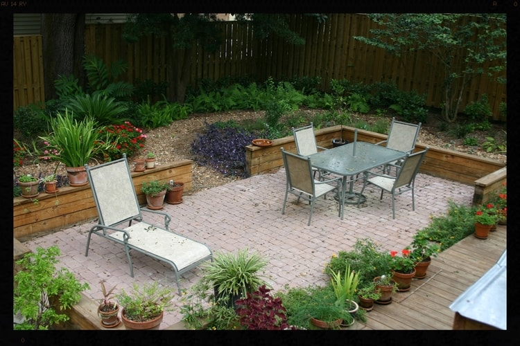 paver patio landscaping in tallahassee