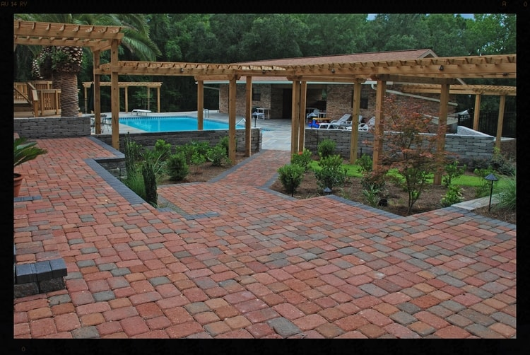 arbors and paver patios