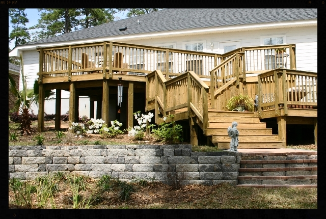 Landscaping deck in tallahassee