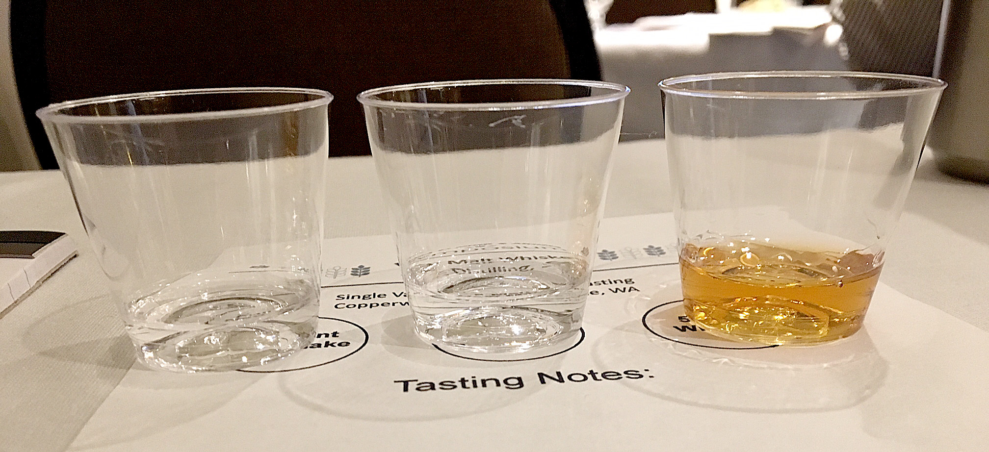 The last morning, including a presentation about malt in whiskey.