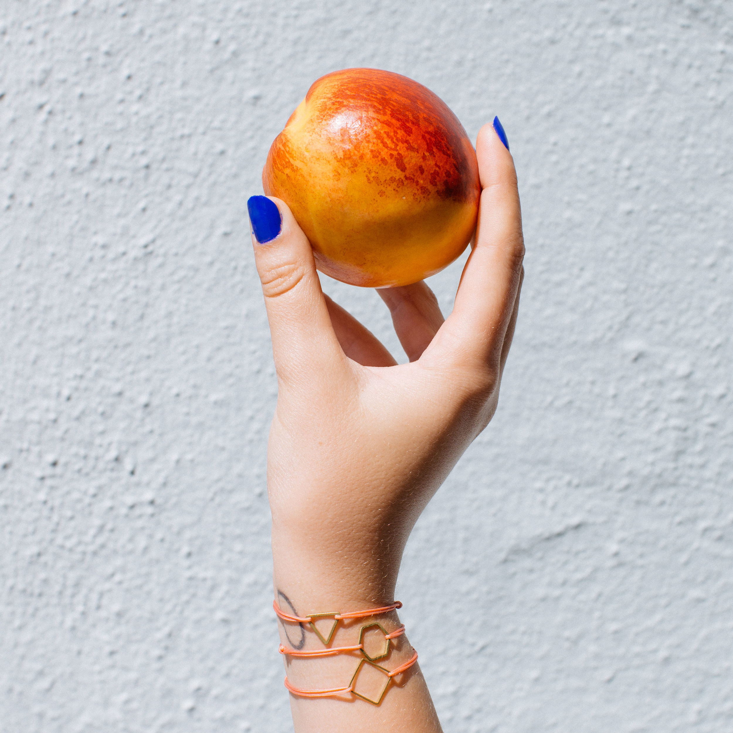 minimalist geometric bracelet
