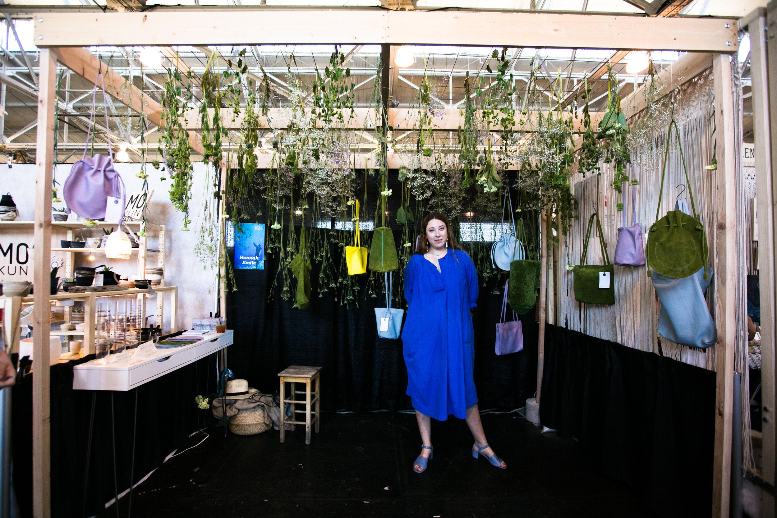Hannah Emile WCC Booth