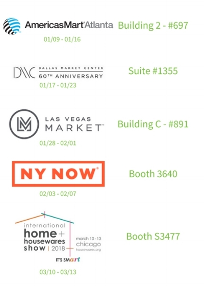 invites you to our trade shows in 2018.jpg
