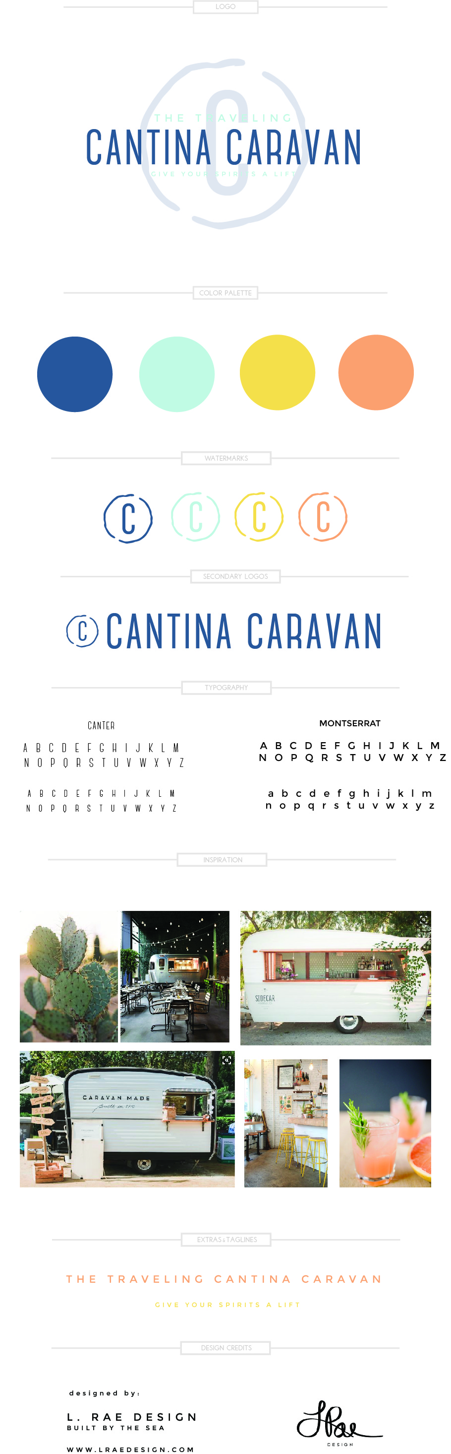 Cantina Caravan Branding