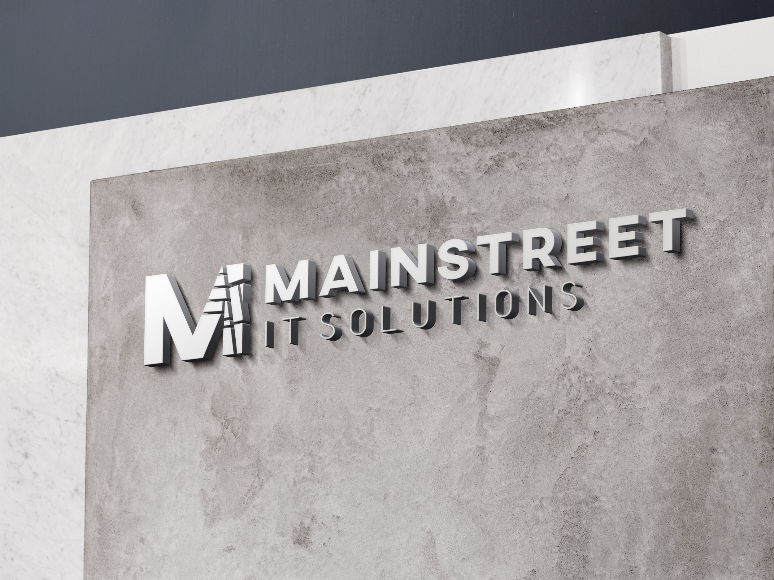 Mainstreet IT Solutions Mockup