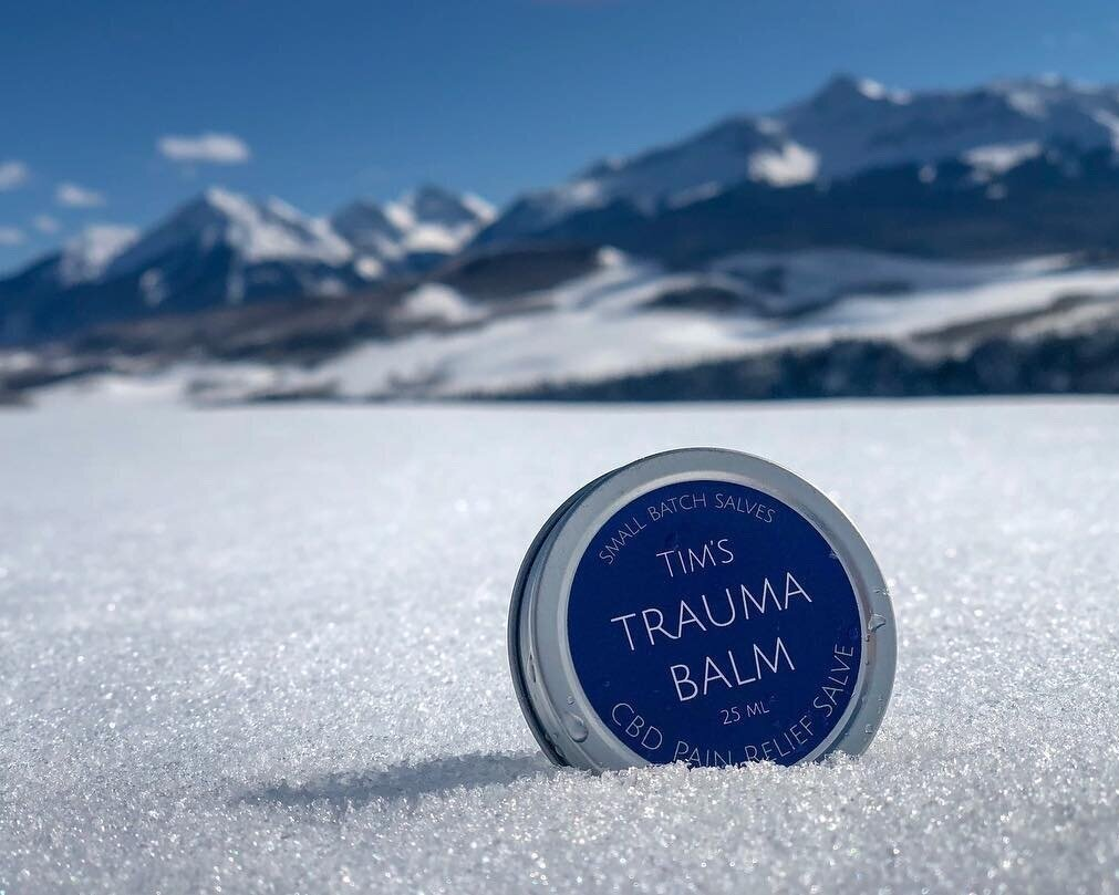 CBD Massage - Nourish the skin and relax the nervous system. We use Tim's Body Balm, created by a massage therapist in Telluride. Handcrafted in small batches and 100% organic. Remaining balm is yours to keep. $40.00