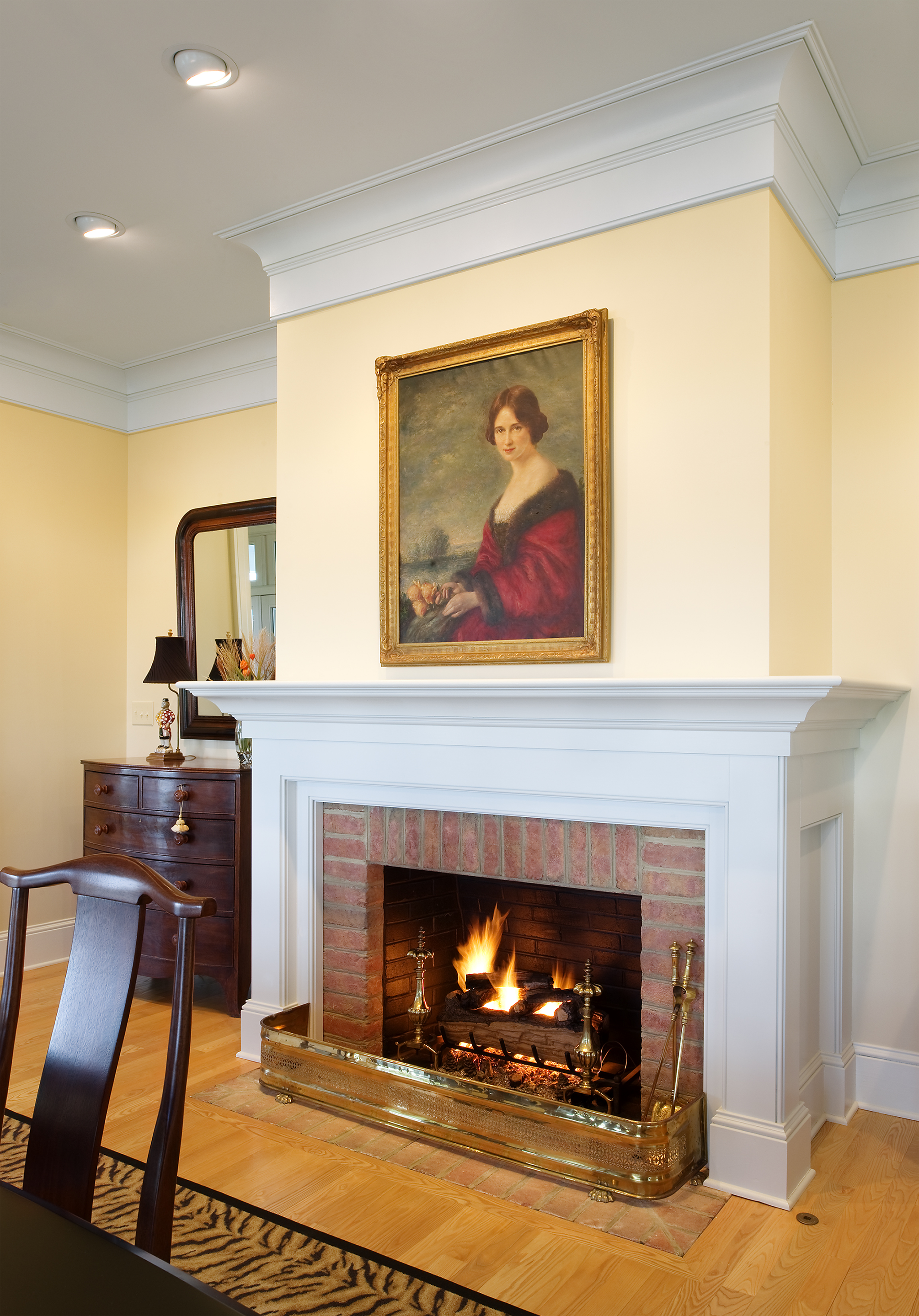 Luther Paul Weber Elegant Interior After 6