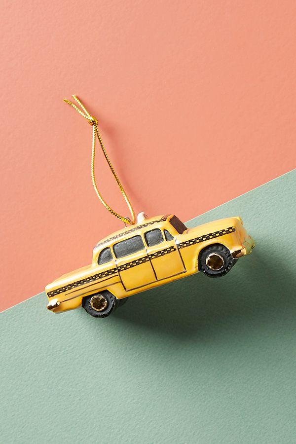yellow taxi ornament-must have christmas ornaments-caitlin elizabeth james-blog.jpeg
