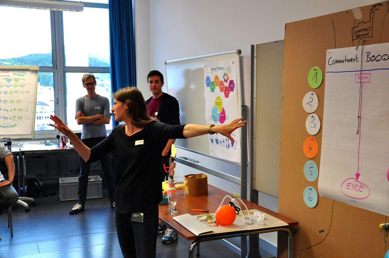 Design Thinking - Sie wollen ihre Kunden und deren Bedürfnisse besser verstehen?Sie wollen ihre Mitarbeiter kreativer machen?Sie wollen lernen was Design Thinking ist und wie sie die Methode anwenden können?Wir bieten Workshops für Design Thinking von 4-stündigen bis mehrtägigen Schulungen nach ihren Bedürfnissen massgeschneidert.