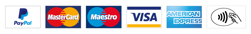 We accept the following payments -  Cash, Debit Card, Credit Card, Visa & Contactless