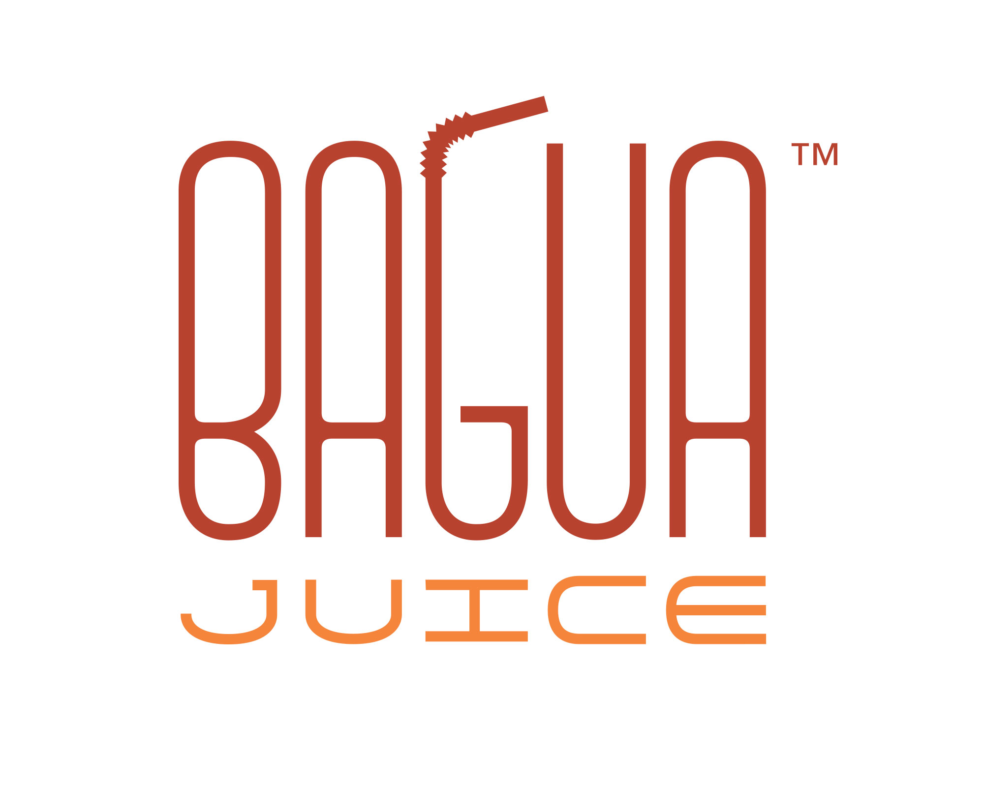 Logo for a juice bar