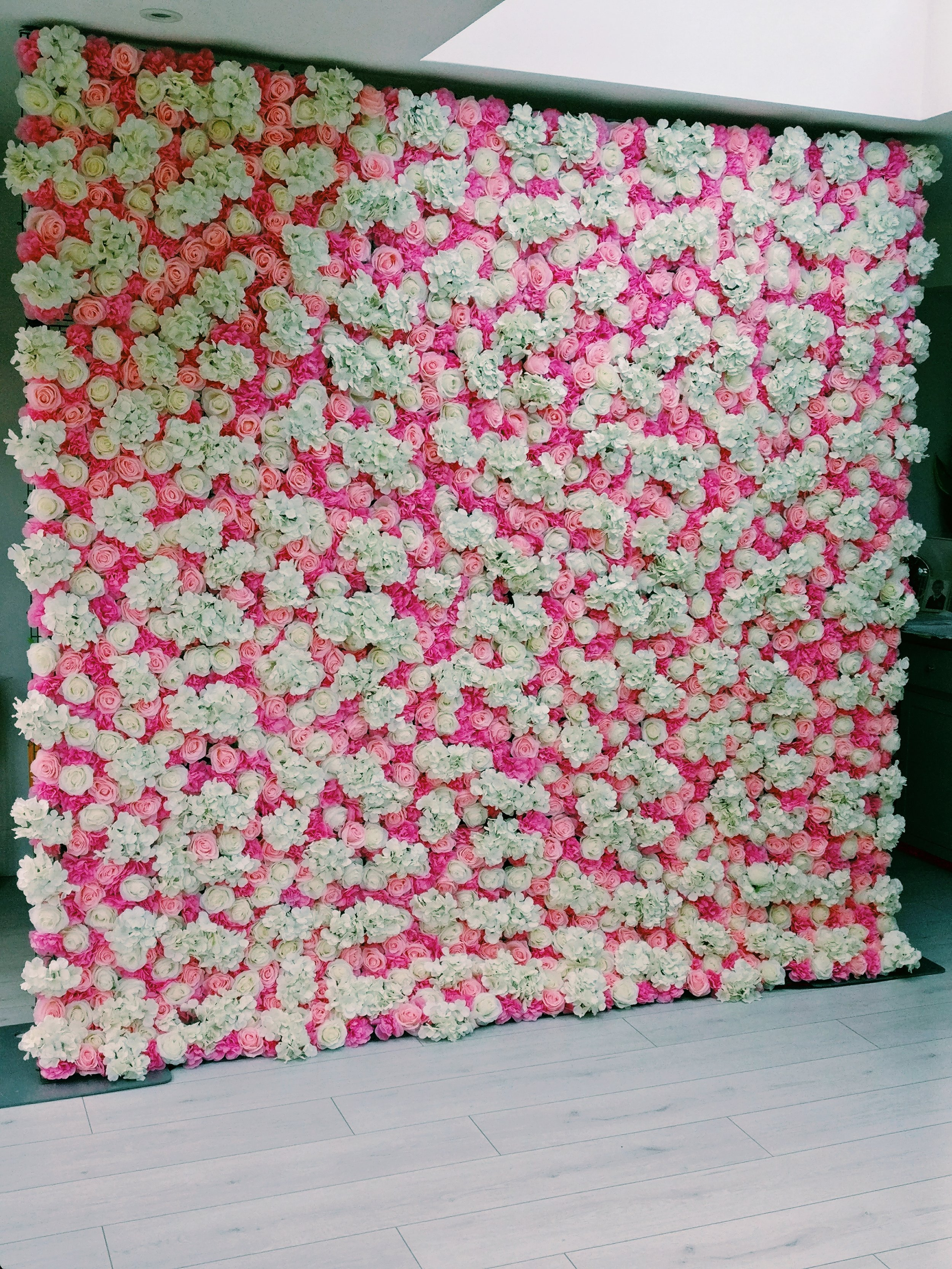 The Olivia Flower Wall