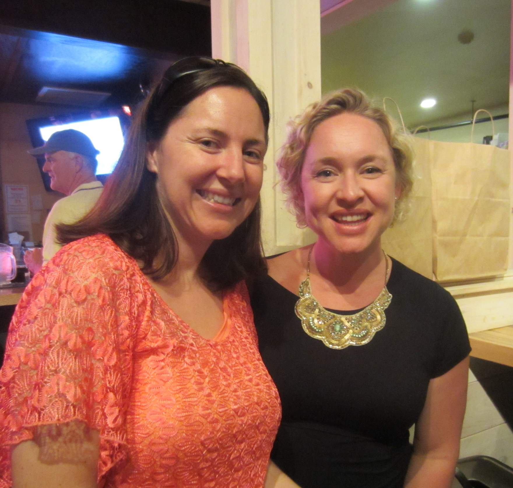 Me and Kate Northrup, Make a Life Not Just a Living, Live Event, Portland Maine, August 2015