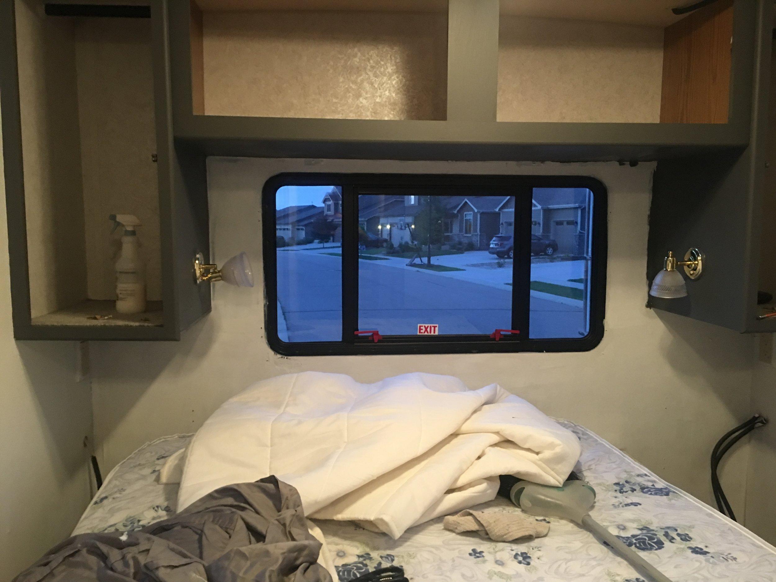 Back bedroom going grey...