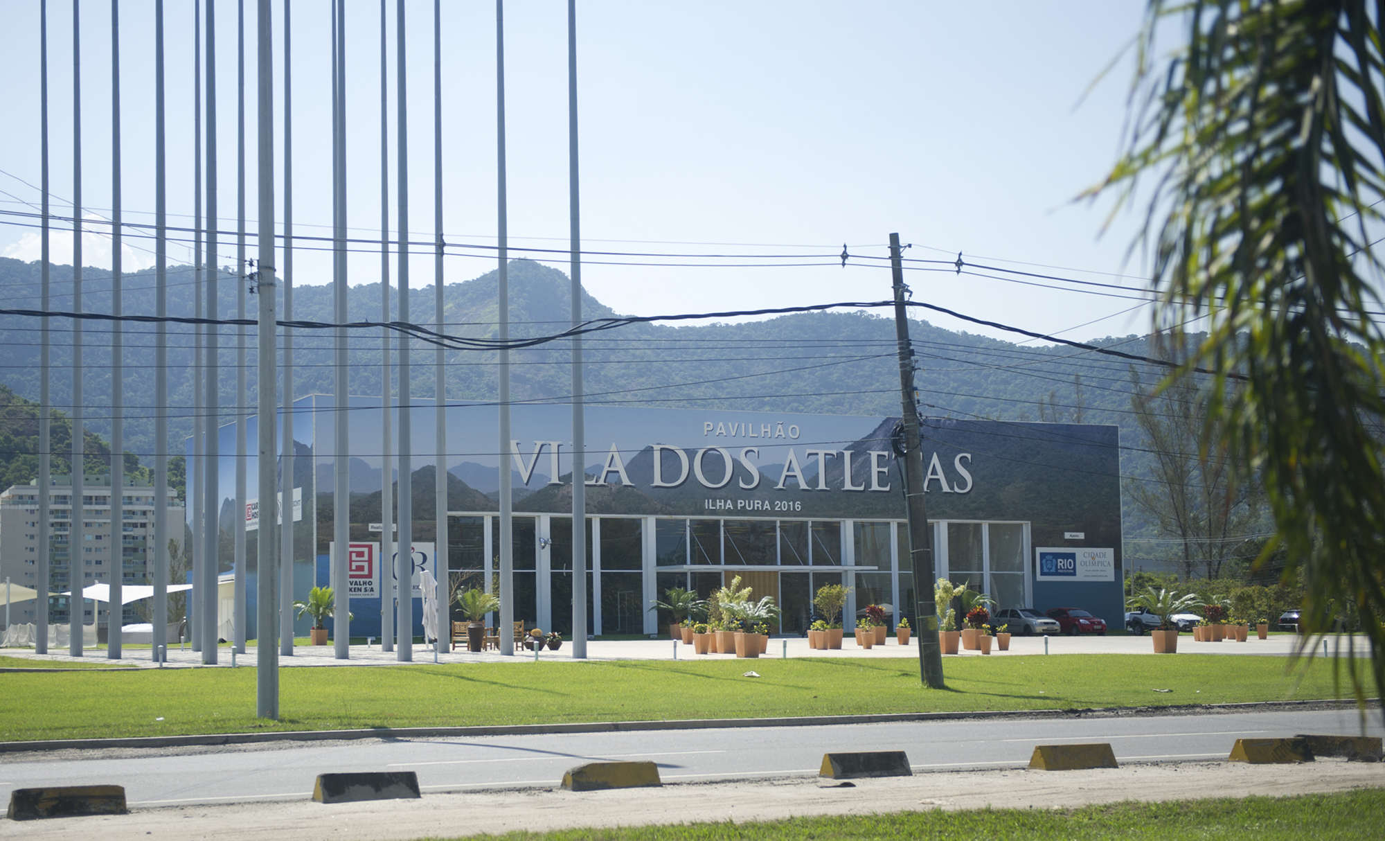 The planned location for the Olympic athlete village is just a few minute's drive from Brito's home in Vila Autodromo.