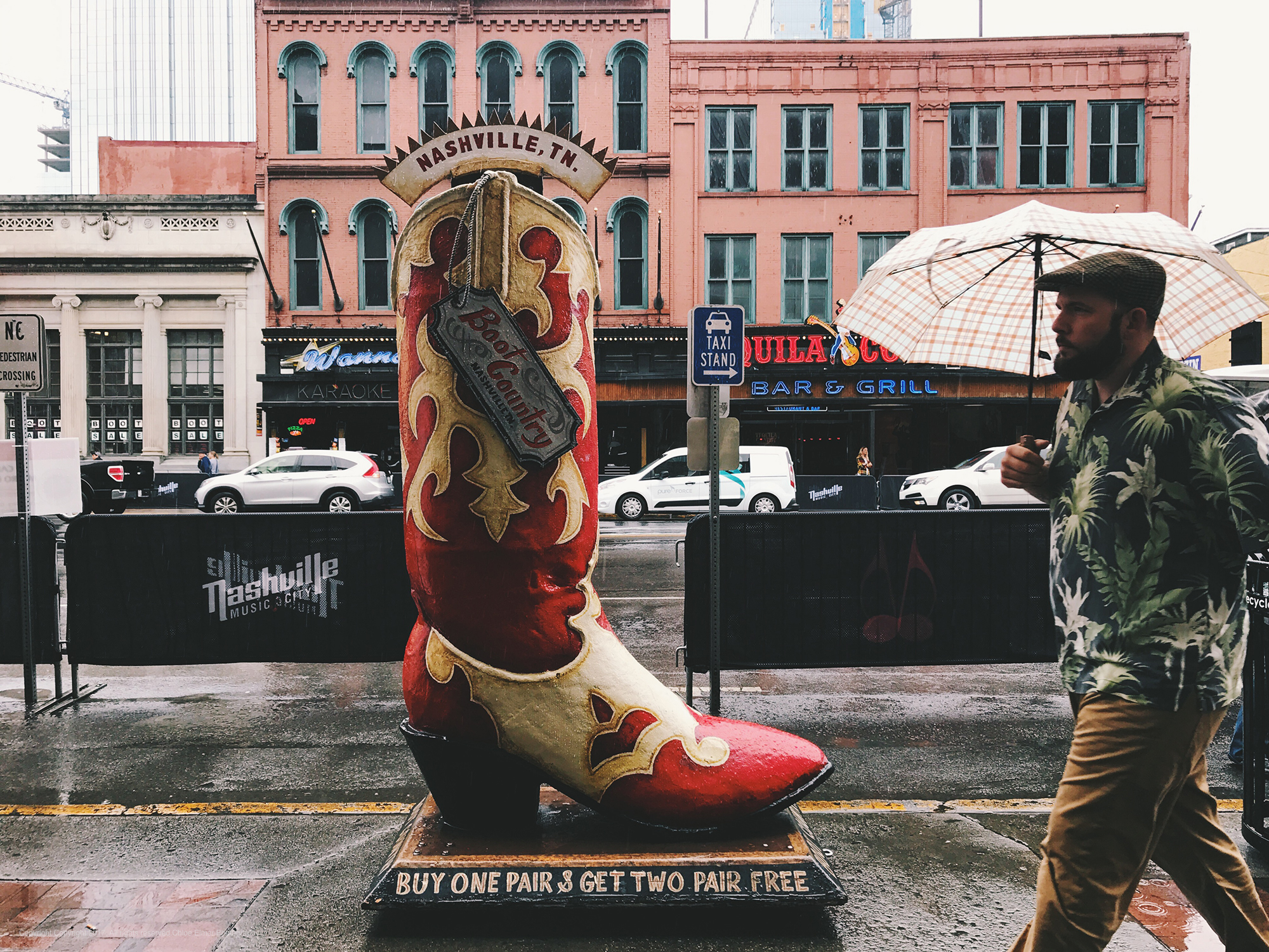 Nashville isn't all cowboy boots and cowboy hats...except it mostly is!