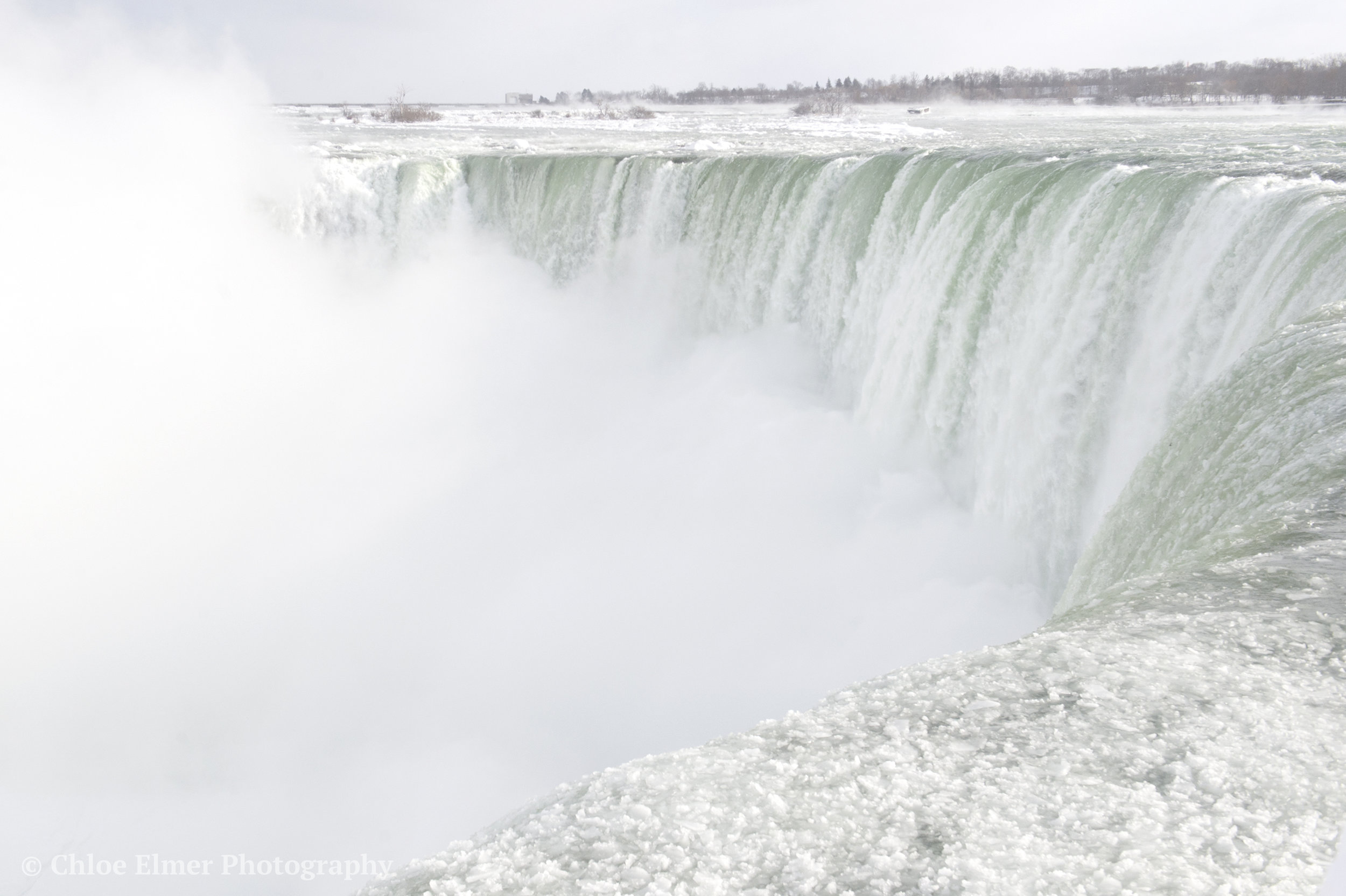This is the horseshoe-falls area, that you can really only see from Canada.