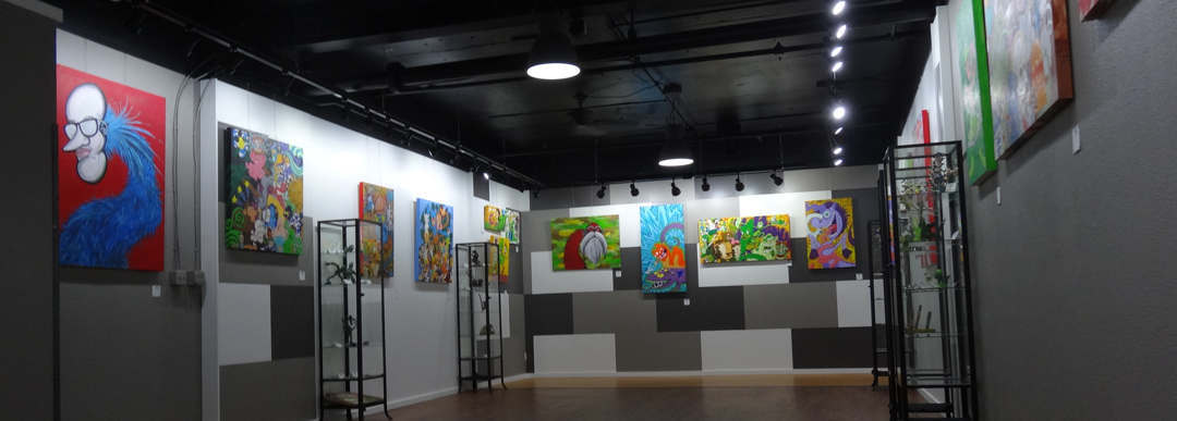 Green Movement Show - Vincent Gordon - DCCX Gallery - Santa Fe District - Denver, CO