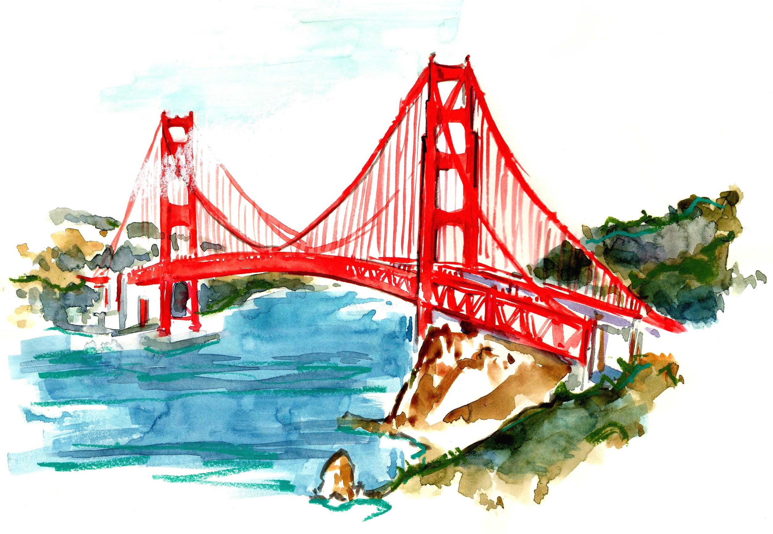 GOLDEN GATE BRIDGE / SAN FRANCISCO, CA