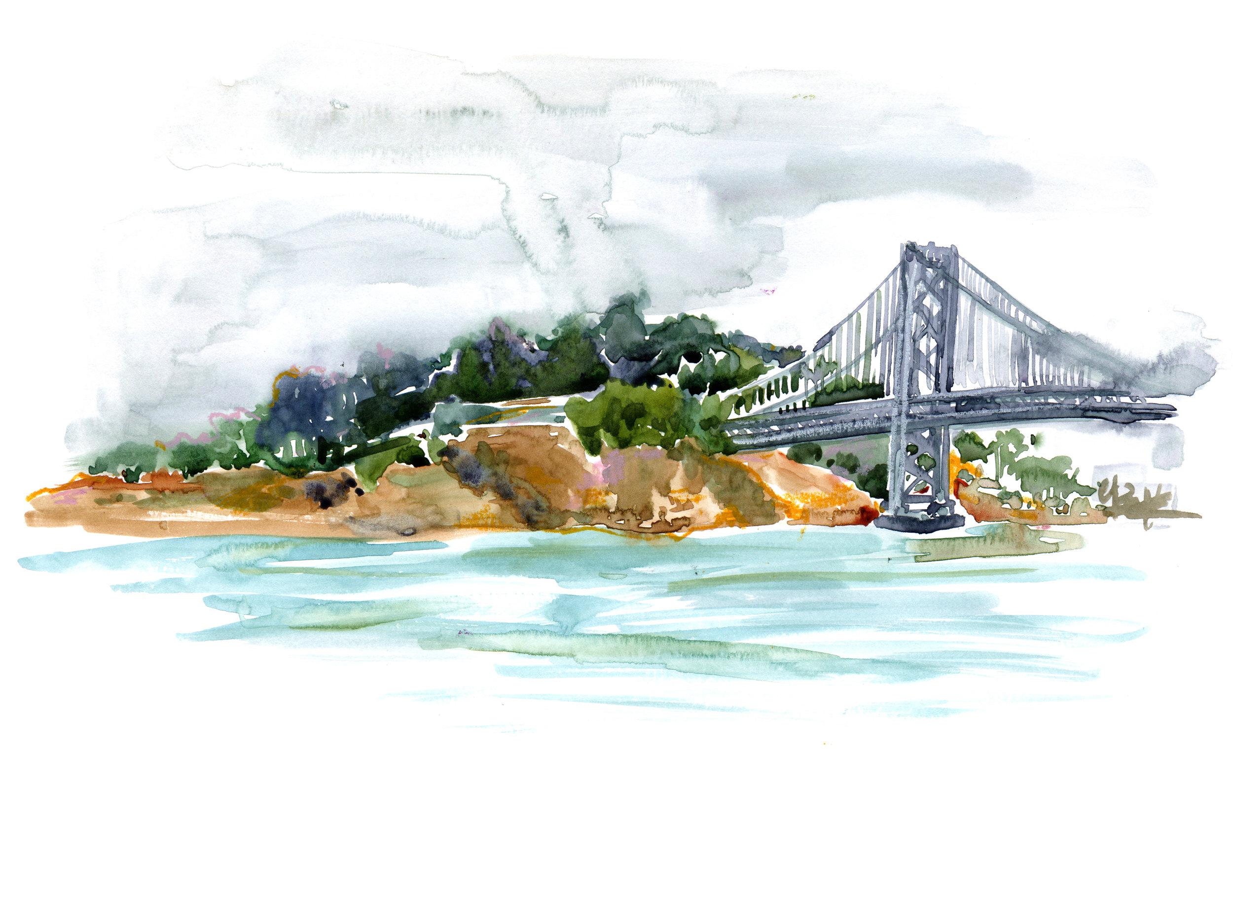 BAY BRIDGE / SAN FRANCISCO, CA