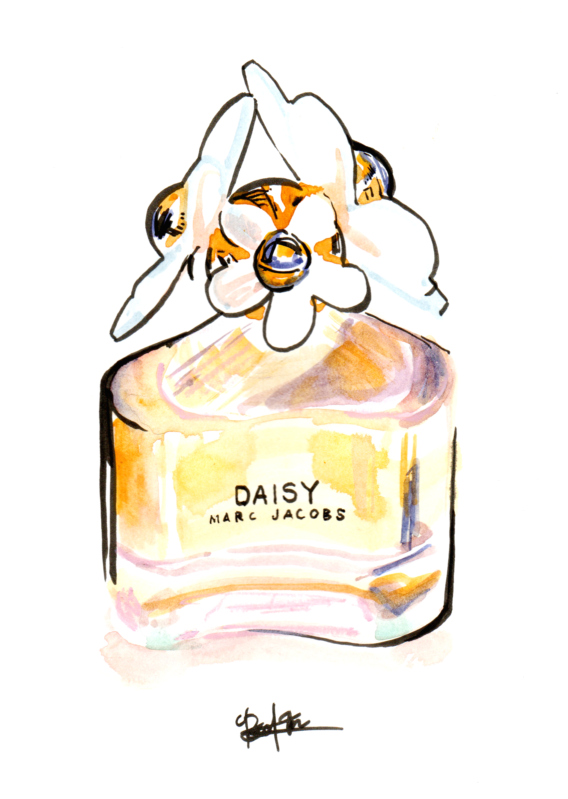 Daisy by Marc Jacobs in mixed media.