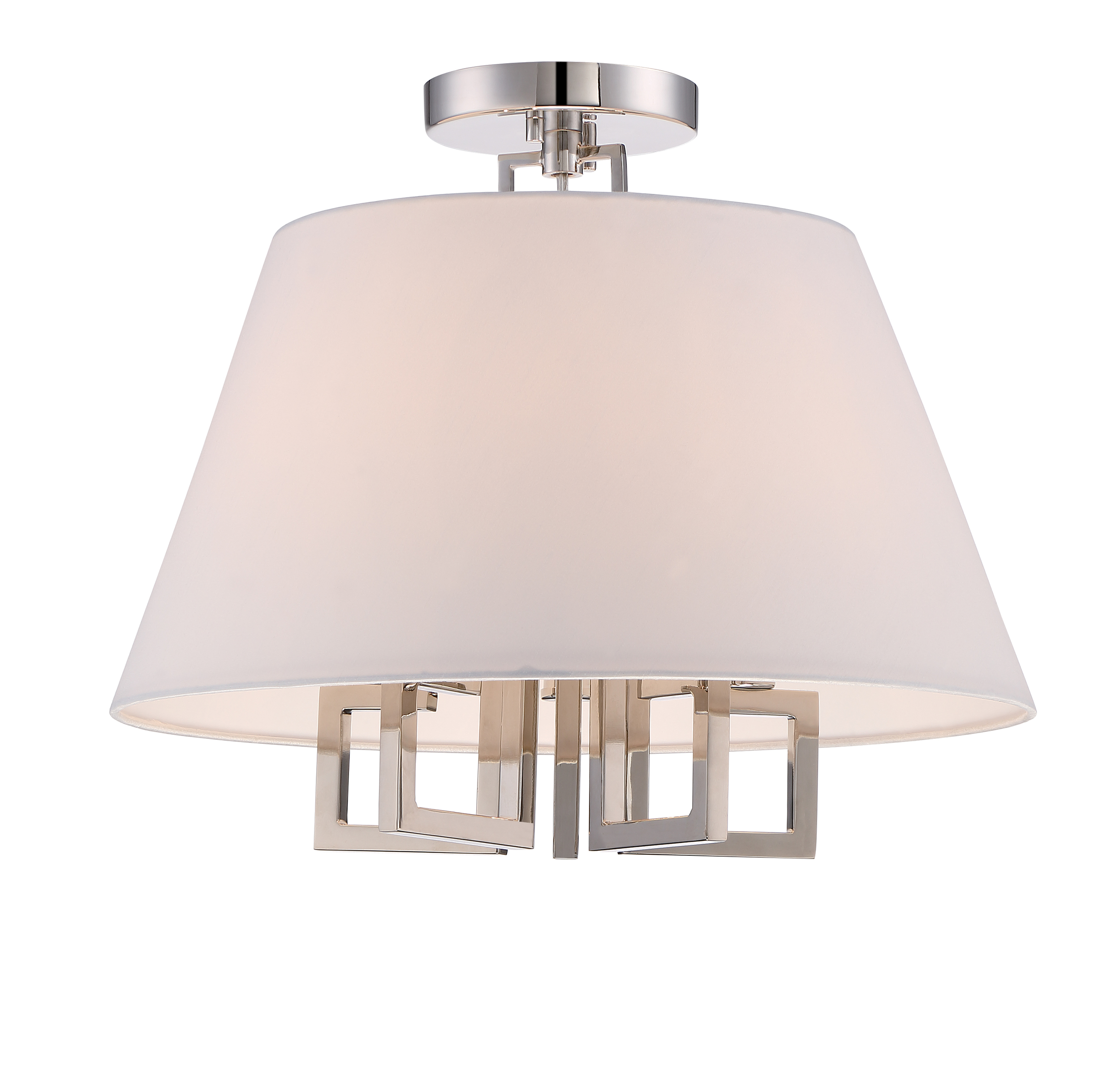 Westwood 5 Light Polished Nickel Ceiling Mount
